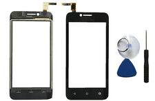 Black Touch Screen Digitizer Glass Lens Replacement For Huawei Ascend Y560