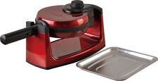 Harper HWM460 Waffeleisen 1000 Watt wendbar Waffel Maker Rot Waffelautomat; Y65