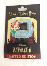 WALT DISNEY WORLD A PIECE OF DISNEY MOVIES PIN ARIEL THE LITTLE MERMAID