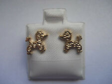 14k Gold Filled Puppy Dog Post Earrings Item # A153
