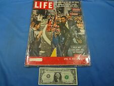 Vintage LIFE Magazine April 28, 1958 with Willie Mays on the Cover