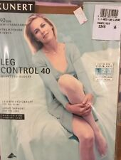 Kunert Leg Control 40 Pantyhose Tights Support  Glossy Medium Large Candy Sheer