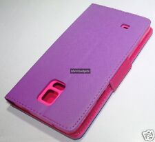 Flip Leather Case For Samsung Galaxy Note 4