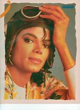 MICHAEL JACKSON in flying gear magazine PHOTO / mini Poster 11x8""