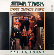 STAR TREK DEEP SPACE NINE CALENDAR 1996