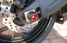 Crash pad Sturzpad LIGHTECH ► Radachse 4 St. Rot red Suzuki GSXR 600 750 11-15