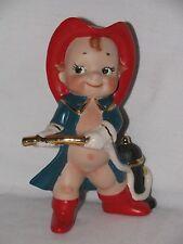 Wonderful Artist REPRODUCTION Bisque Kewpie Fireman Figurine