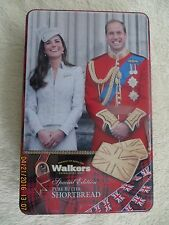 Walkers Shortbread (English Import) William & Catherine Celebration Tin 8.8 oz.