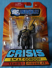 "S.W.A.T Gordon / Crisis / DC Infinite Heroes / 3.75"" Action Figure / Mattel"