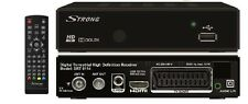 DVB-T Strong terrestrischer HD Receiver HDMI SCART USB PVR RCA  Dolby Digital