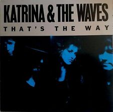 """KATRINA AND THE WAVES That's The Way 12"""" VINYL 3 Track Extended Mix"""