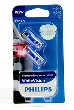 Philips W5W Bianco Vision 4300 K Xenon Effect +60% 2St 12961NBV - TOP