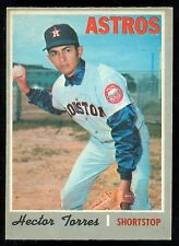 1970 TOPPS OPC O PEE CHEE BASEBALL #272 HECTOR TORRES EX-NM HOUSTON ASTROS CARD