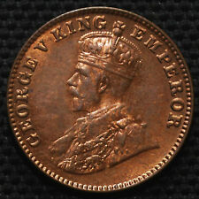 VERY RARE KING GEORGE V ( 1/4 ANNA )  YER -1936 like unc