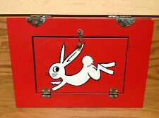 AMAZING VINTAGE 1960's Disneyland Disappearing Rabbit Magic trick box
