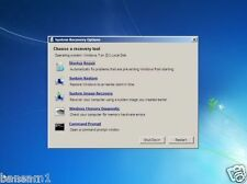System Recovery Restore Repair Boot CD For Windows 7 VISTA XP
