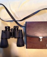 BUSHNELL SPORTVIEW BINOCULARS WITH CASE 10X50 WIDE ANGLE P5832 USED