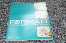 1974 Format Typographic Typography Art Lithography Font Line Graphics Catalog