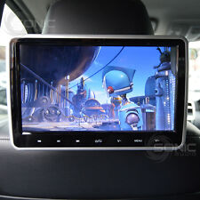 Universal Car HD Headrest DVD Player/Screen USB/SD/HDMI Inputs Rear Seat Games