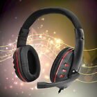 Deluxe Wird Gaming Headset Earphone Headphone with MIC For PS4 XBOX PC