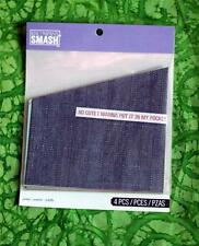 SMASH BOOK ACCESSORY - POCKETS - Goodness, Denim 4 Pockets - Journaling