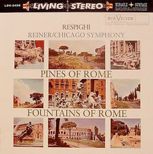Respighi: Pines of Rome/Fountains of Rome Chicago Sympony 180g Vinyl LP LSC-2436