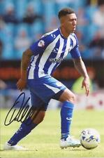 SHEFFIELD WEDNESDAY * LIAM PALMER SIGNED 6X4 ACTION PHOTO+COA