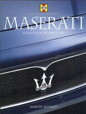 Maserati Italian Luxury and Flair - Martin Buckley - SIGNED BY THE AUTHOR! book