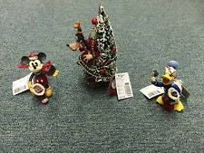 Lot of 3 New Disney Midwest Christmas Ornaments Mickey & Co Mickey,Goofy,Donald