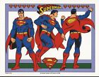 DC PRINT - SUPERMAN MODEL SHEET