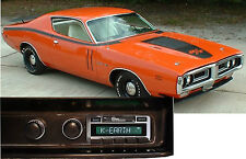 1971-73 Charger AM FM Bluetooth New Stereo Radio iPod USB Aux inputs, 300 watts