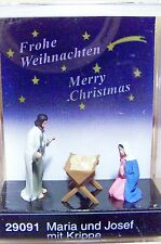 HO Preiser 29091 The Holy Family * CHRISTMAS * NATIVITY SCENE FIGURES