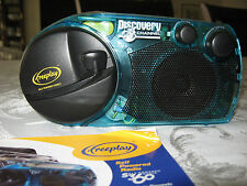 FREEPLAY SELF-POWERED AM/FM RADIO S360 DISCOVERY CHANNEL + INSTRUCTIONS BOOKLET