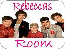 One Direction Door Sign Plaque Bedroom Door Sign 150mm x 100mm