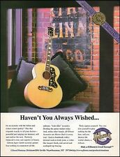 The Gibson Super Jumbo Master built Acoustic Guitar ad 8 x 11 advertisement