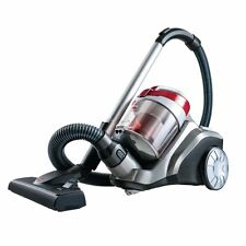 Bissell Powerforce 1539A Bagless Compact Cylinder Vacuum Cleaner 700W Red Black