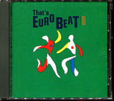 THAT'S EUROBEAT VOLUME 10 - MAXI VERSIONS ITALO JAPAN CD COMPILATION [674]