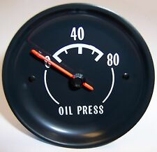 1974 Corvette Oil Pressure Gauge. New GM Restoration