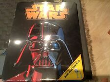 Star Wars Darth Vader Embossed Tin with Books & Model Kit a AT-ST new sealed