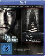 2 Blu-rays * DIE FRAU IN SCHWARZ 1 + 2 ~ COLLECTOR'S EDITION # NEU OVP $
