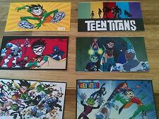 24ct~  TEEN TITANS STICKERS, birthday party favor, DECAL, stocking stuffer