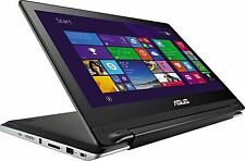 "ASUS TP550LA Transformer Book Flip 15.6"" Convetible Laptop Intel Core i7, 750GB"