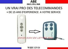 TELECOMMANDE MULTIFREQUENCE COPIEUSE SOMFY TELIS