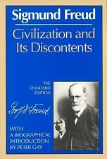 Civilization and its Discontents by Sigmund Freud (Paperback 1989)