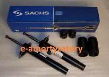 2x Front Shock Absorbers   BMW 3 Series E46 M-technik   + Protection KIT SACHS