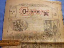 Comfort Newspaper May 1923 Civil War Article One and Indivisible Yank and Reb