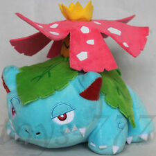 "Pokemon Venusaur 7"" Stuffed Animal Nintendo Ivysaur Bulbasaur Plush soft toy"