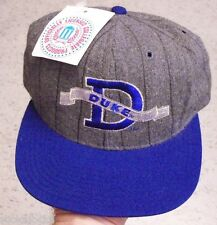 Duke HAT SNAPBACK VINTAGE mint w/ Tags melton wool NCAA Laettner Hurley Hill Era