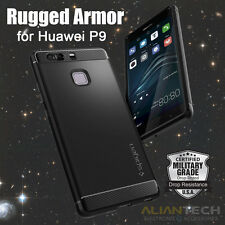 Original Spigen Huawei P9 Case Rugged Armor Ultimate Protection Phone Cases