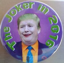 "2.25"" Anti Trump Joker for President 2016 Donald Pinback Button Badge"